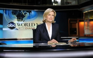 diane sawyer at abc news desk describing story about Venefit vein procedure